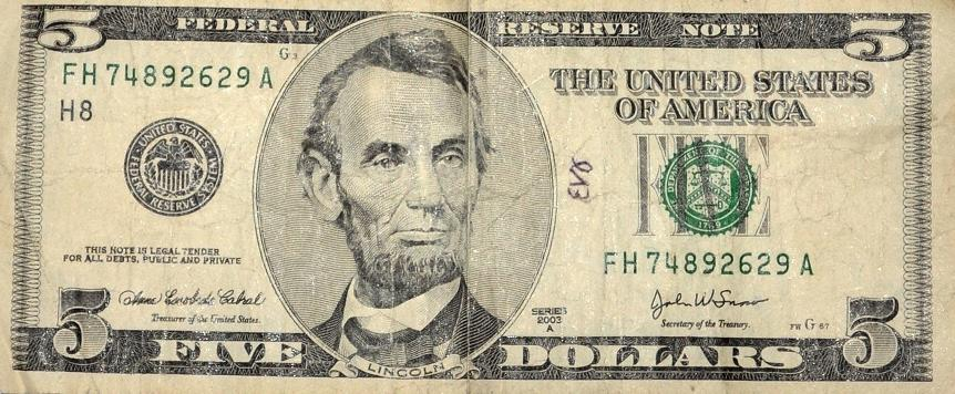 20 Dollar Bill Abraham Lincoln Pictures To Pin On