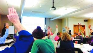 RAD workshop photo courtesy of Sydney Conrad