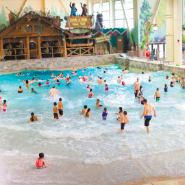 PHOTO COURTESY OF GREAT WOLF LODGE