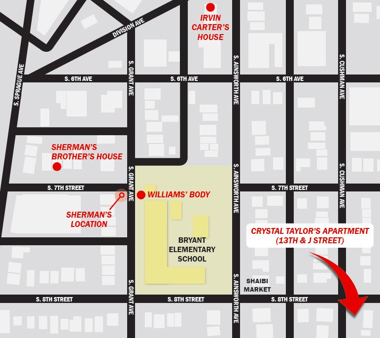 Map by Danielle Burch
