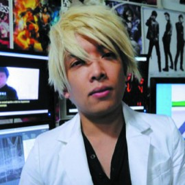 (Above) The late Monty Oum in his Rooster Teeth work space COURTESY OF ROOSTER TEETH