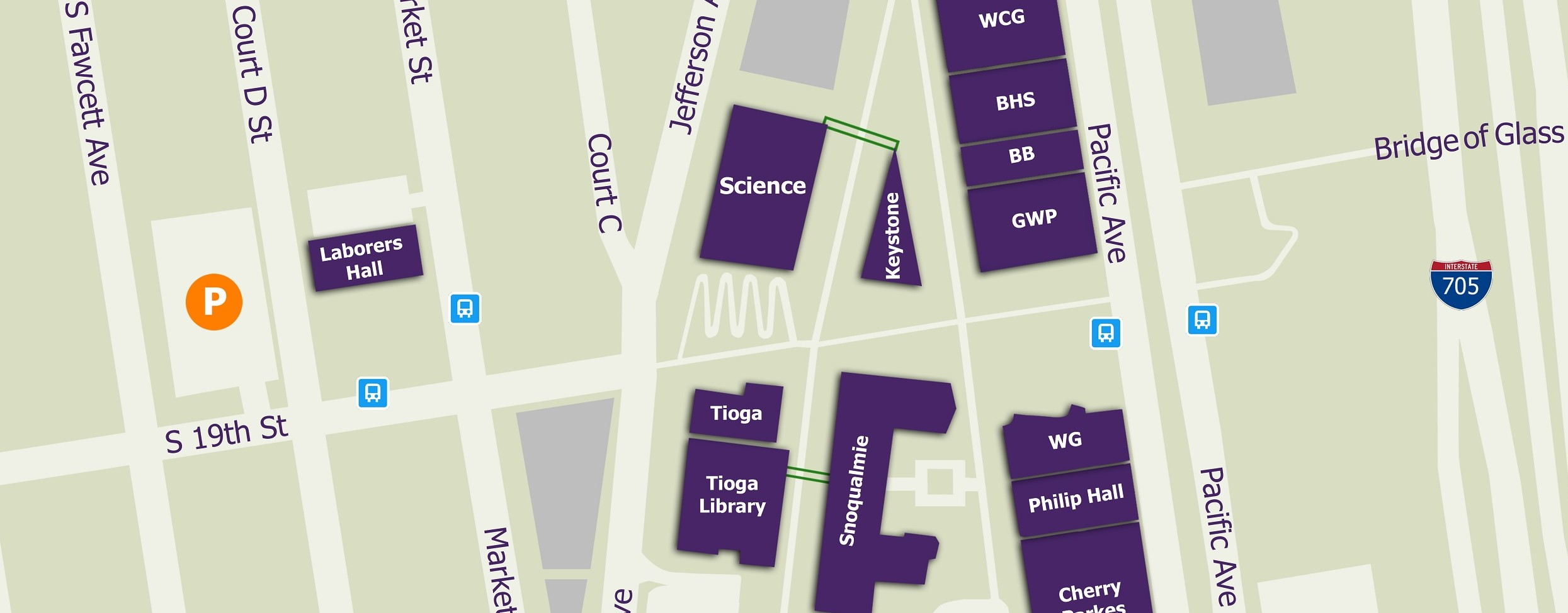 Seniors Give Back with New Campus Map   The Tacoma Ledger