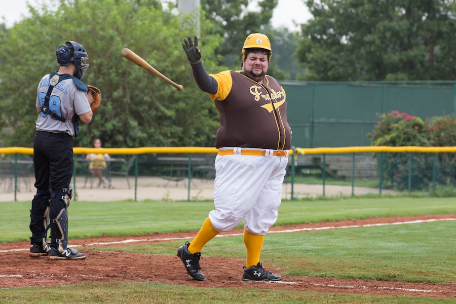 Image result for brockmire fat player