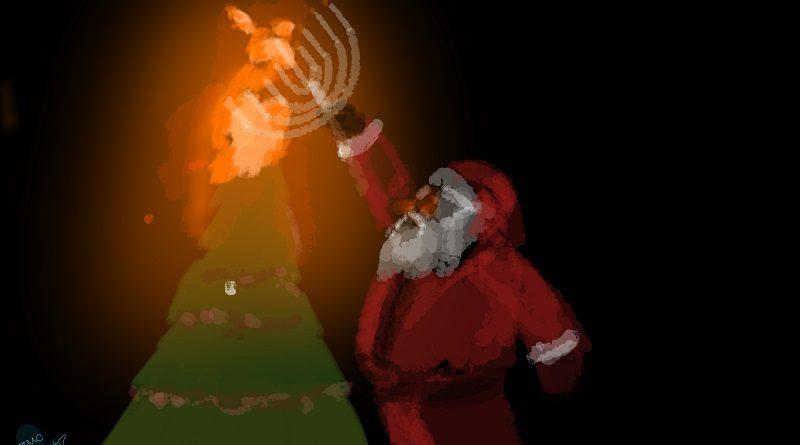 Satire: Is Santa secretly Jewish?